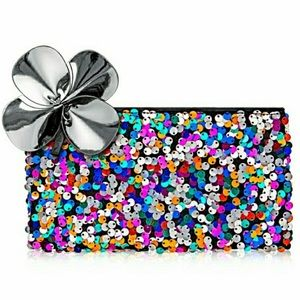 MAC Sequined Cosmetic Bag